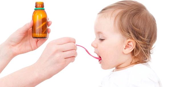 Verabreichung von Antibiotika bei Kindern