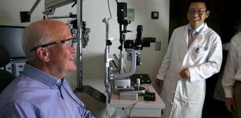 Bionisches Auge lässt Blinde wieder sehen