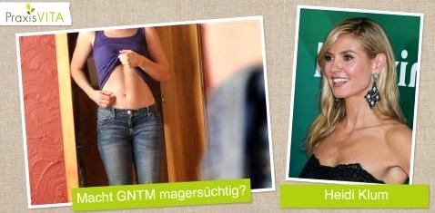 Heidi Klum-Show GNTM: Zusammenhang mit Magersucht?
