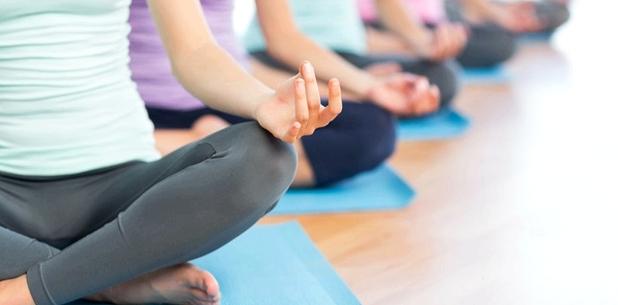 Yoga hilft zur Entspannung