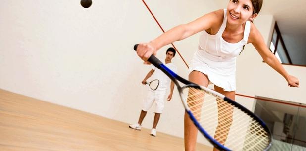 Verstauchung oft Verletzung bei Squash