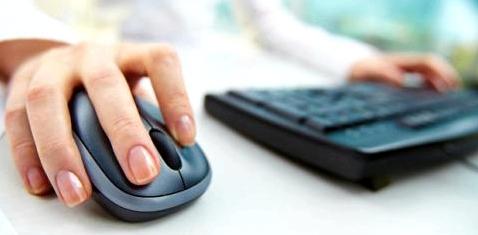 Arbeit mit PC-Maus verursacht Sehnenscheidenentzuendung