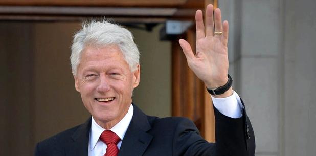 Bill Clinton leidet unter Rosazea