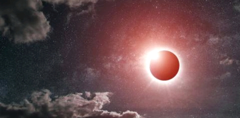 Eine Sonnenfinsternis