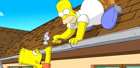 Homer und Bart