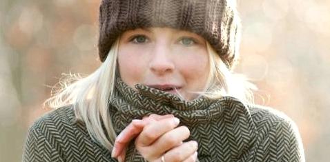Kalte Finger im Winter