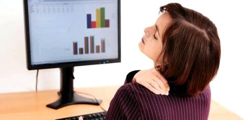 Rückenschmerzen durch Fehlhaltung