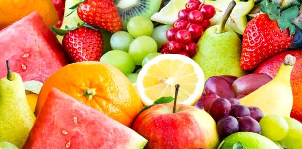 Frisches Obst enthält viel Vitamin C