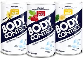 Body Control in drei Geschmacksrichtungen