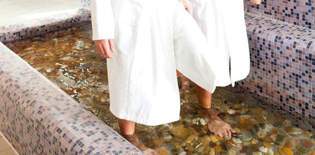 Wassertreten gegen Krampfadern