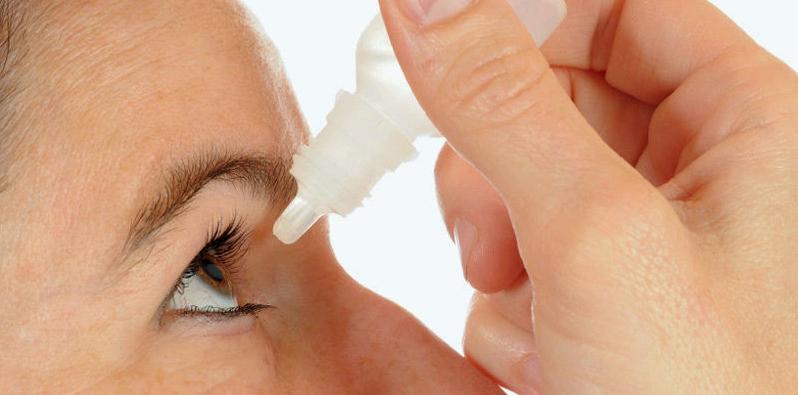 Augentropfen mit Hyaluronsäure können mehrmals täglich verwendet werden
