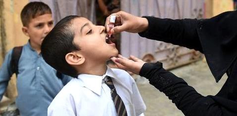 Schluckimpfung in Pakistan