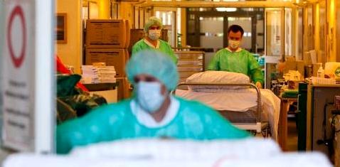 Isolierstation in einem Krankenhaus