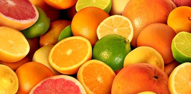Zitrusfrüchte sind Vitamin C Lieferanten