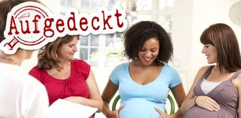 Frauen bei Schwangerschaftberatung