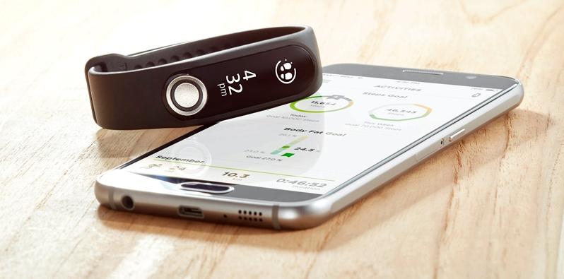 TomTom Touch und Smartphone