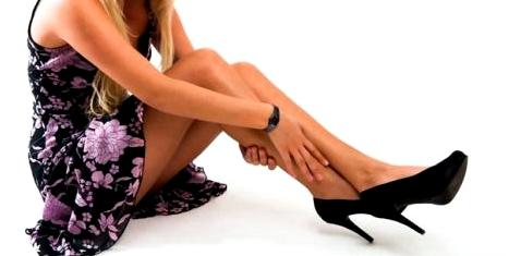 Wadenkrampf im Bein