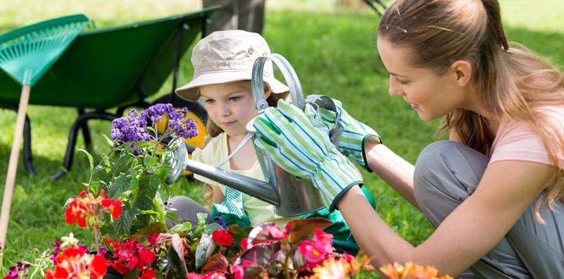 Tragen Sie bei der Gartenarbeit Handschuhe, um sich vor mit Toxoplasmose infizierter Erde zu schützen