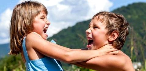 Kinder streiten
