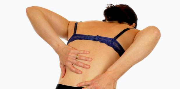 Rückenschmerzen durch eingeklemmten Nerv